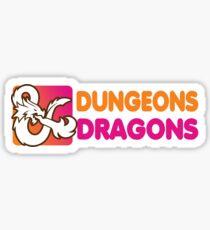 Dunkin' Dragons Sticker