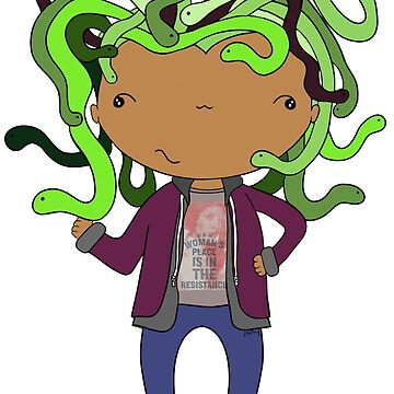 Resistance Medusa by mimiboo