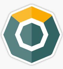 Komodo KMD Crypto Currency Icon Sticker