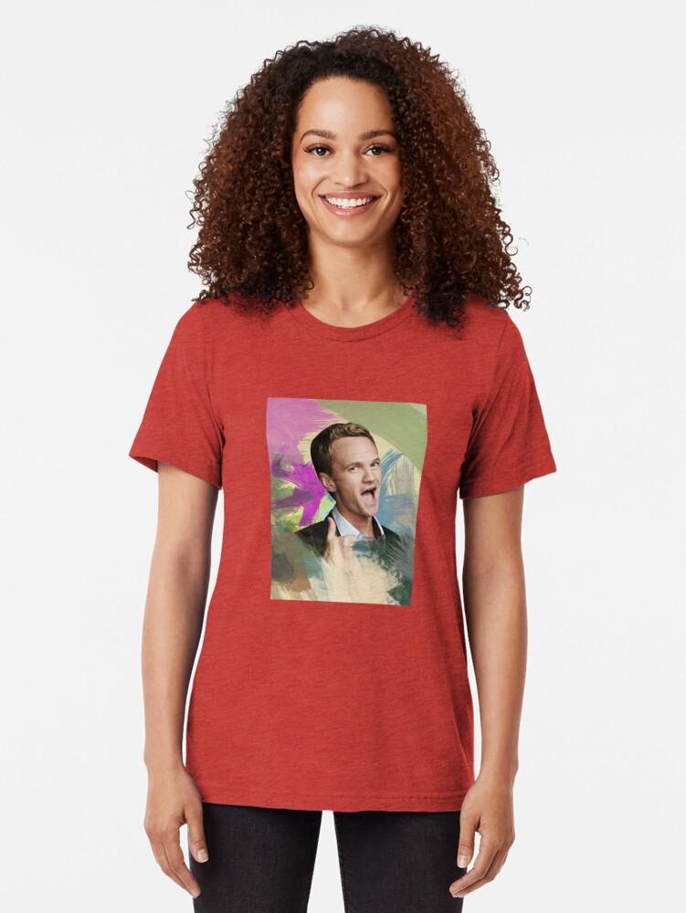 Alternative Ansicht von How I Met Your Mother Vintage T-Shirt