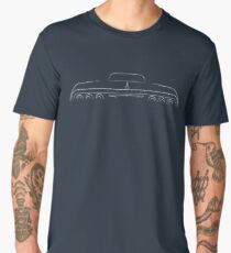 1964 Impala - rear Stencil, white Men's Premium T-Shirt