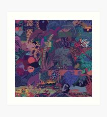 GLASS ANIMALS // ZABA Art Print