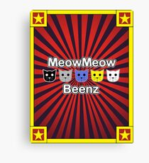 MeowMeow Beenz Canvas Print