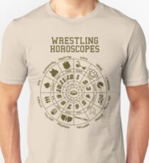wrestling horoscope Unisex T-Shirt