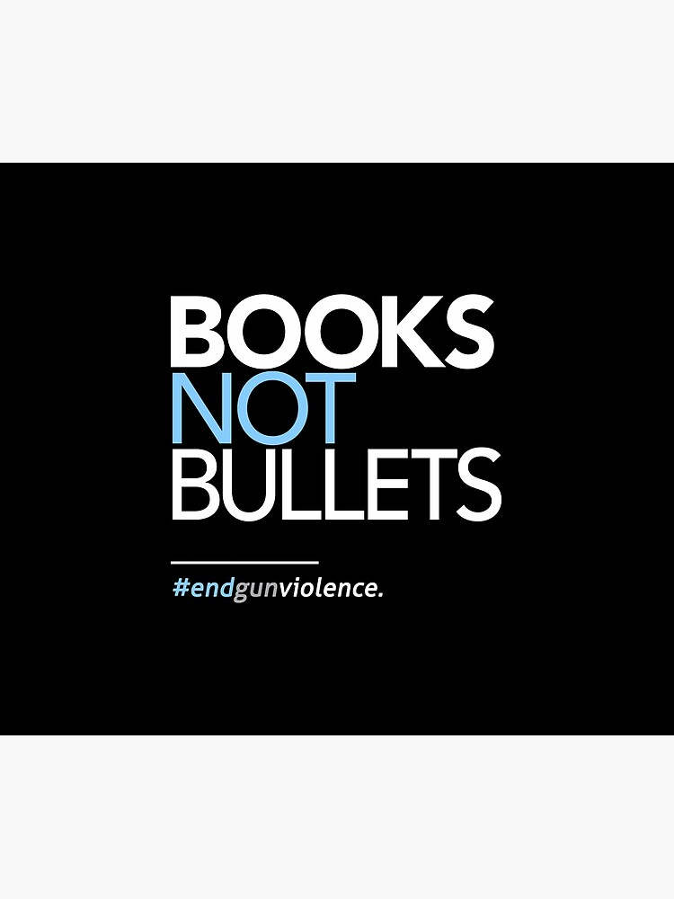 Bücher nicht Kugeln, März für unser Leben von BootsBoots