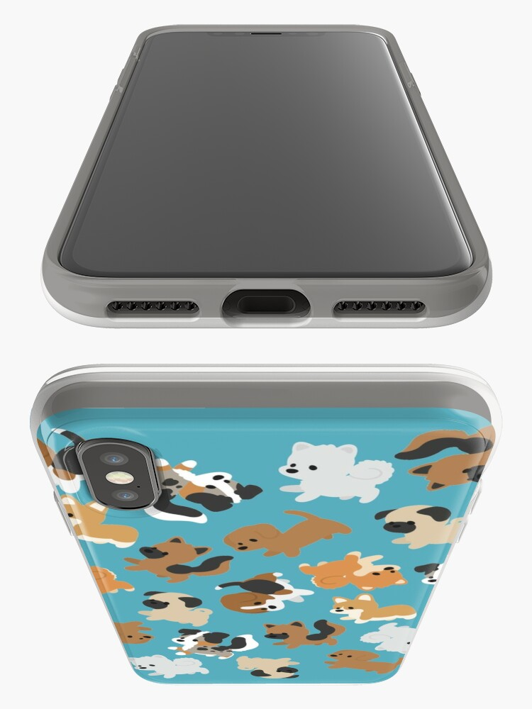Alternate view of Chibi Puppers iPhone Cases & Covers