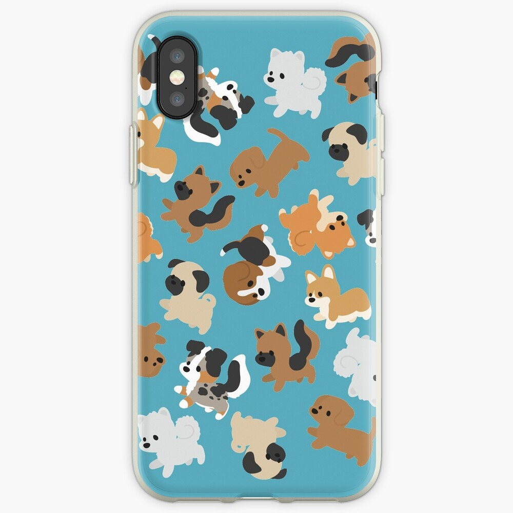 Chibi Puppers iPhone Cases & Covers