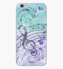 Music Notes Flutter  iPhone Case