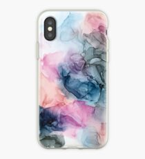 Vinilo o funda para iPhone Heavenly Pastels 1: pintura de tinta abstracta original