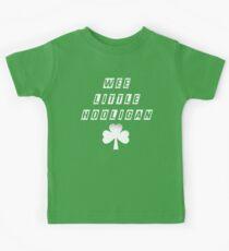 Wee Little Hooligan Bodysuit Baby Shower Gift Funny Boy Girl Irish Ireland Soccer Clover St Patrick's Geek Cute Uncle Grandma Grandpa Kids Tee