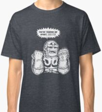 The gauntlet- white ink Classic T-Shirt
