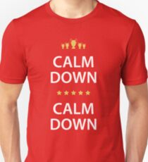 Calm Down, Calm Down - The Scousers Unisex T-Shirt