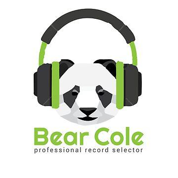 Panda DJ - DJ Bear Cole Logo by 1stdrop