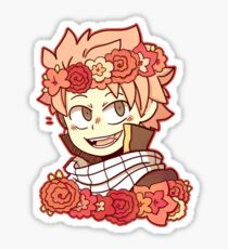 Pegatina Pegatina Natsu Flower Crown
