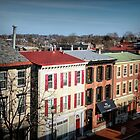 High Street in Historic Downtown West Chester, Pennsylvania by Polly Peacock