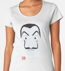 El Profesor La Casa De Papel Women's Premium T-Shirt