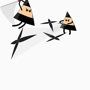 Ninja Triangles by ScottA