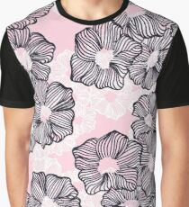 Ink Flowers Graphic T-Shirt