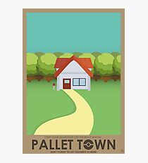 Pallet Town Poster Photographic Print
