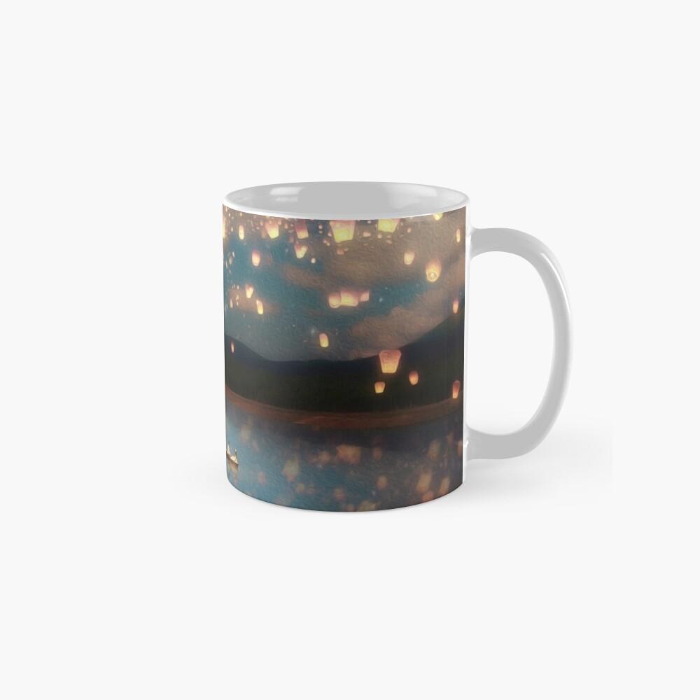 Wish Lanterns for Love Mug