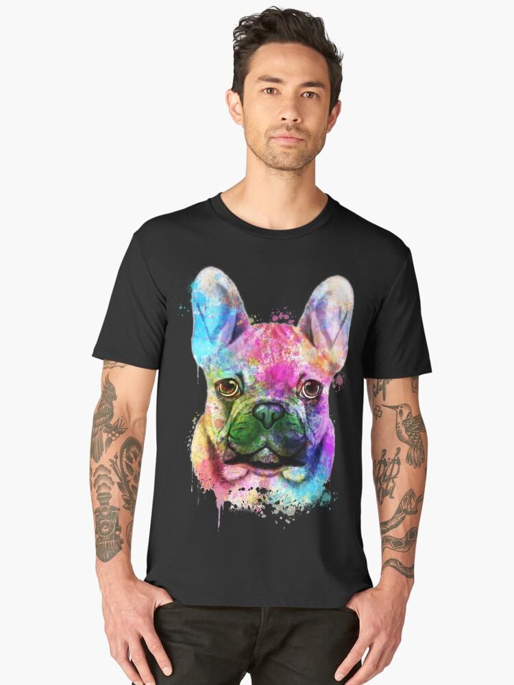 Aquarell der französische Bulldogge, Malerei der französischen Bulldogge, französische  Bulldoggen-Porträt, Kunst der französischen Bulldogge, ... 912999dbb1