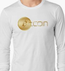 Bitcoin Long Sleeve T-Shirt
