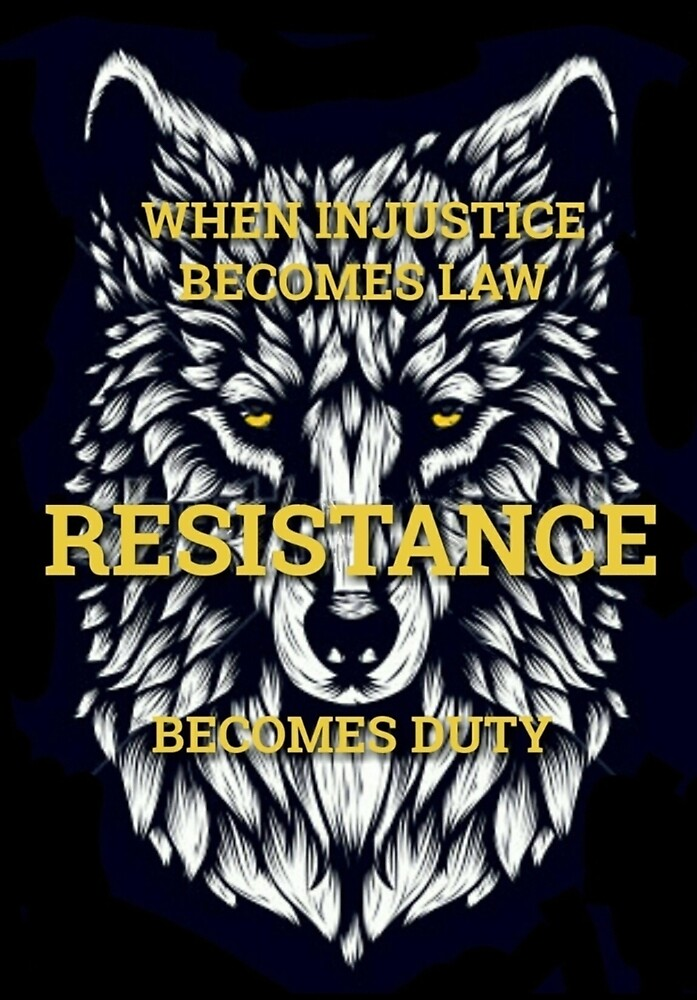 Resistance Wolf  by WolfShadow27