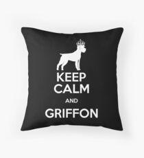 GRIFFON Throw Pillow