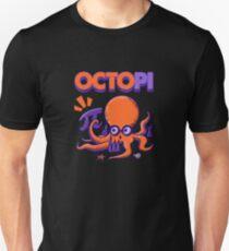 Funny Math Octopi Octopus Pi Mathlete Nerd Geek Unisex T-Shirt