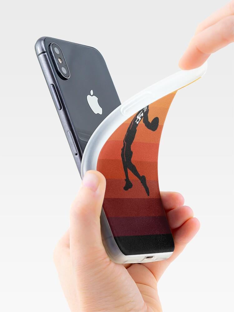 Vista alternativa de Funda y vinilo para iPhone Spida Dunk 3