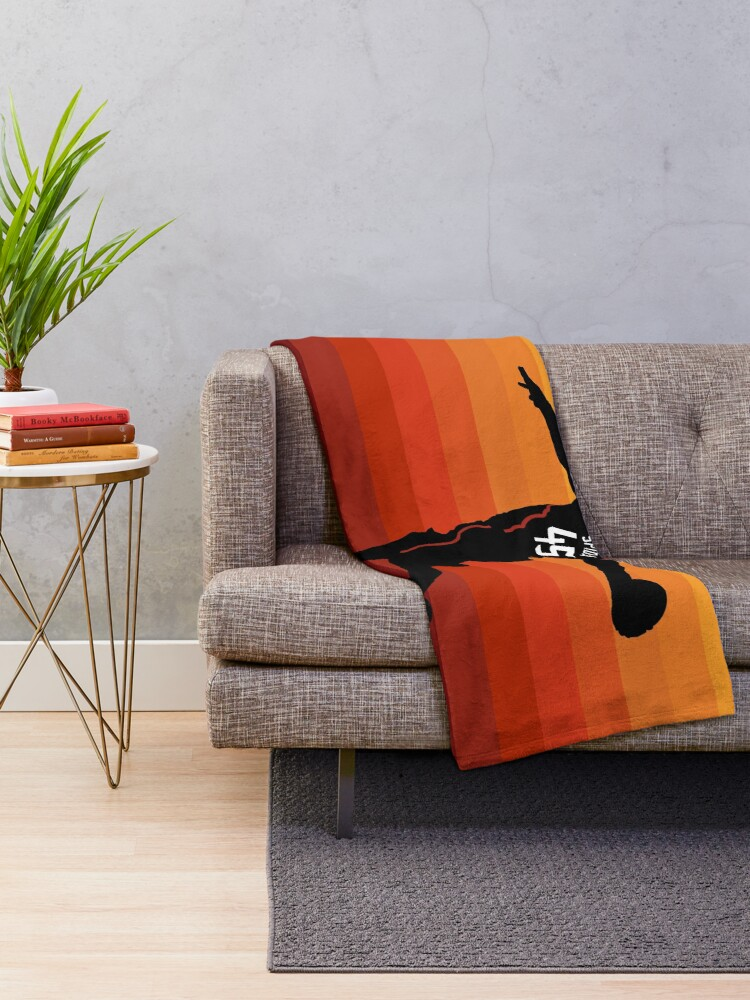 Alternate view of Spida Dunk 3 Throw Blanket