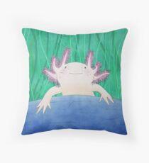 Axolotl love Floor Pillow