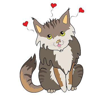 Lovely stray cat by Arollo