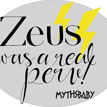 Zeus! Lightning by mythsbaby