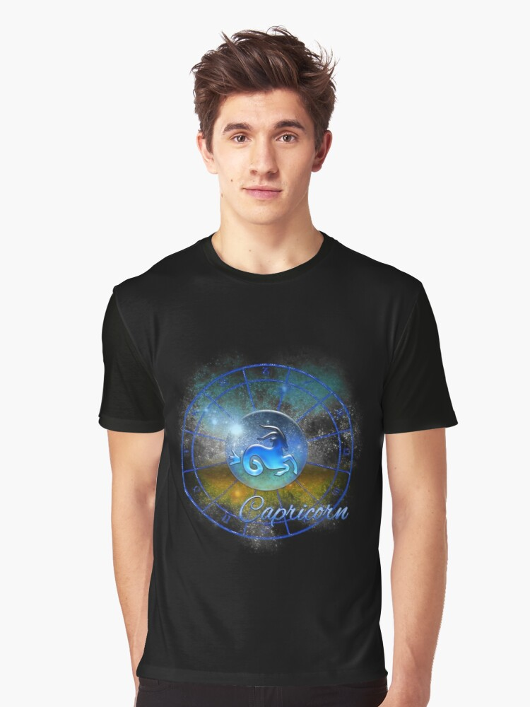 Capricorn Graphic T-Shirt Front