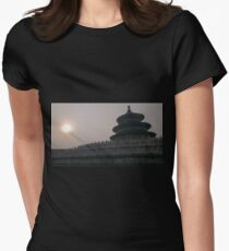 Temple of heaven Women's Fitted T-Shirt