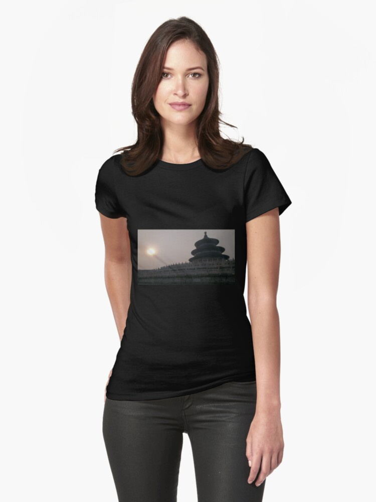 Temple of heaven Womens T-Shirt Front