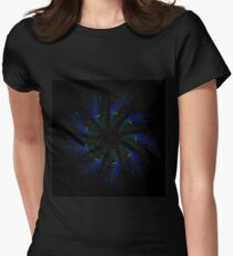 Transtract Mandala - 0118 - Comet Chaser Women's Fitted T-Shirt