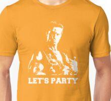 Schwarzenegger Commando Let's Party Unisex T-Shirt