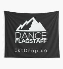Dance Flagstaff Dark Background - 1st Drop Entertainment Wall Tapestry