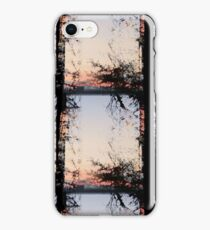 Silhuette of Trees on Water iPhone Case/Skin