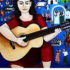 "Violeta Parra  and the song ""Black wedding""  by Madalena Lobao-Tello"