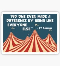 P.T. Barnum-The Greatest Showman Sticker