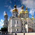 Ukraine Kievo-Pecherskaya Lavra 01 by Yuriy Shevchuk