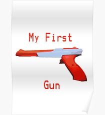 My First Gun Poster