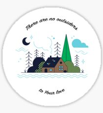 No Outsiders - Rend Collective Sticker