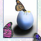 Happy Easter!  Joyeuses Pâques!  ¡Felices Pascuas!  by Johanne Brunet