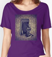 Kodak Hawkeye Camera - Vintage Color Women's Relaxed Fit T-Shirt