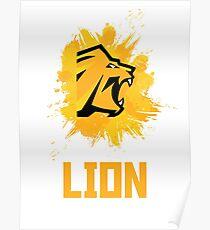 Rainbow Six Siege Lion Poster