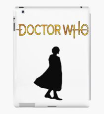 Doctor Who 13th doctor logo  iPad Case/Skin